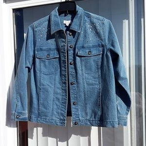 Denim Jacket new with tags.